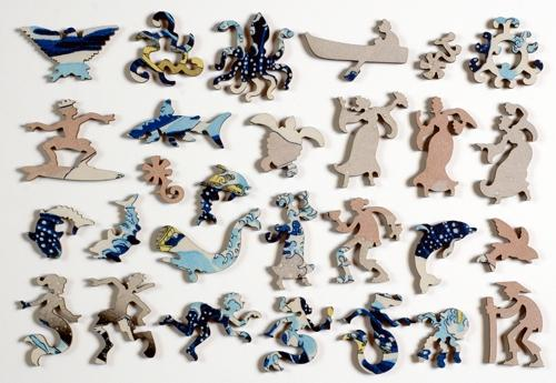 The Great Wave Large Piece - Liberty Puzzles - 10