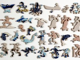 The Great Wave Large Piece - Liberty Puzzles - 5