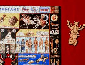 Indians of North America - Liberty Puzzles - 5