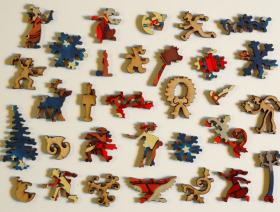 Up on the House Top - Liberty Puzzles - 5