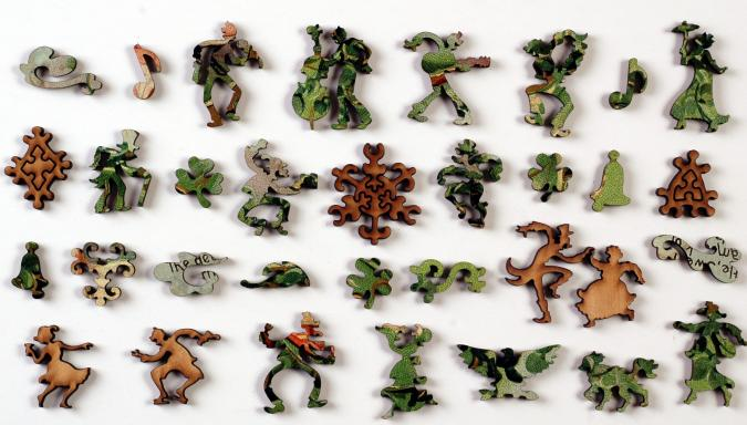 Shamrock of Ireland - Liberty Puzzles - 10
