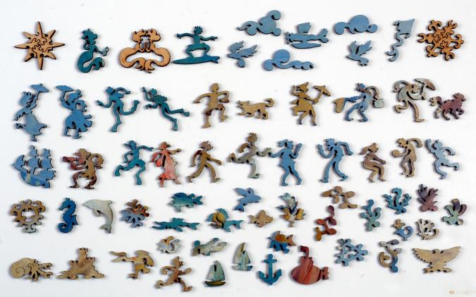 Figures on the Beach - Liberty Puzzles - 10