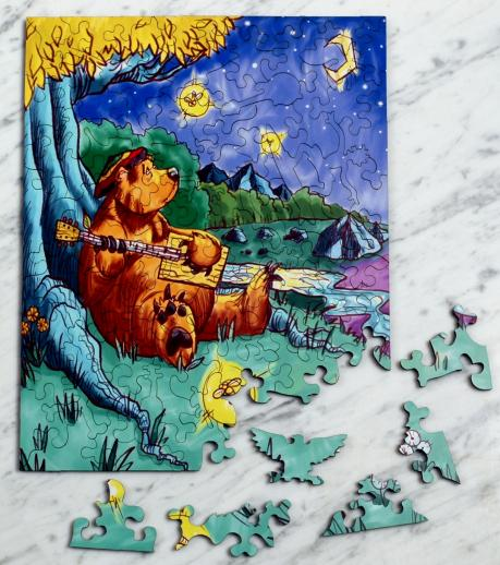 Barry the Bear - Liberty Puzzles - 10