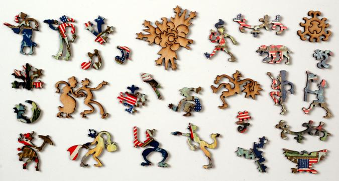 Uncle Sam's Celebration - Liberty Puzzles - 10