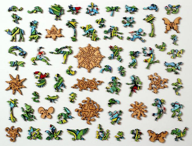 West Indian Garden - Liberty Puzzles - 10