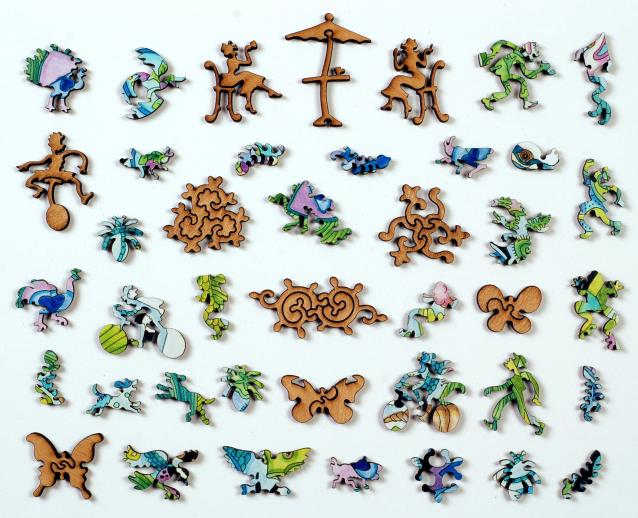 Peacock - Liberty Puzzles - 10