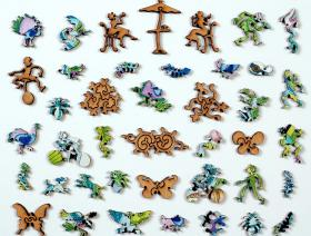 Peacock - Liberty Puzzles - 5