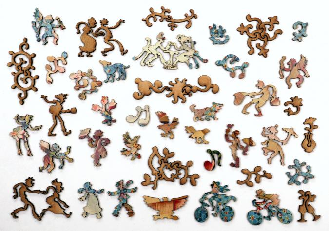 Forget-me-not - Liberty Puzzles - 10