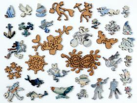 White Ships - Liberty Puzzles - 5