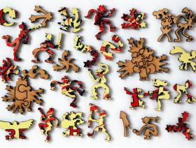 Flying Diabolical Dragon - Liberty Puzzles - 5