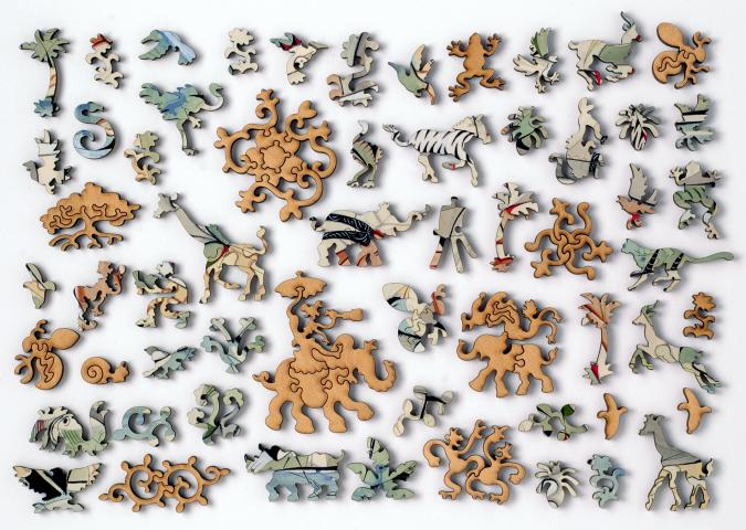 On the Ngare Ndare River - Liberty Puzzles - 10