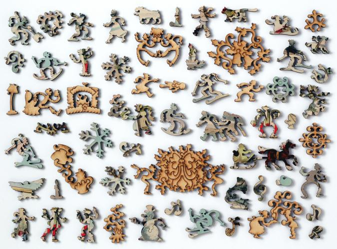 Winter Days - Liberty Puzzles - 10