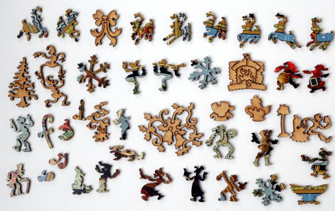 Woolson Spice Christmas No. 2 - Liberty Puzzles - 10