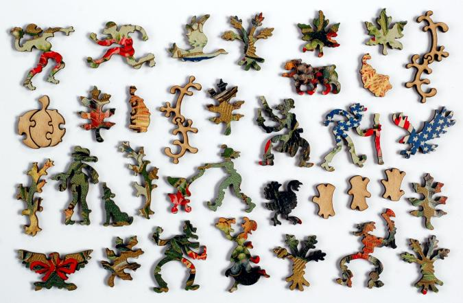 Patriotic Turkey - Liberty Puzzles - 10