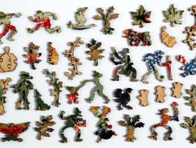 Patriotic Turkey - Liberty Puzzles - 5