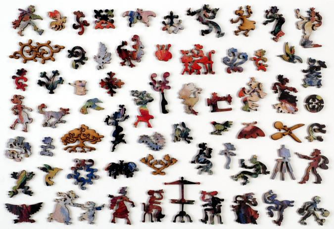 Marie-Therese Durand-Ruel Sewing - Liberty Puzzles - 10