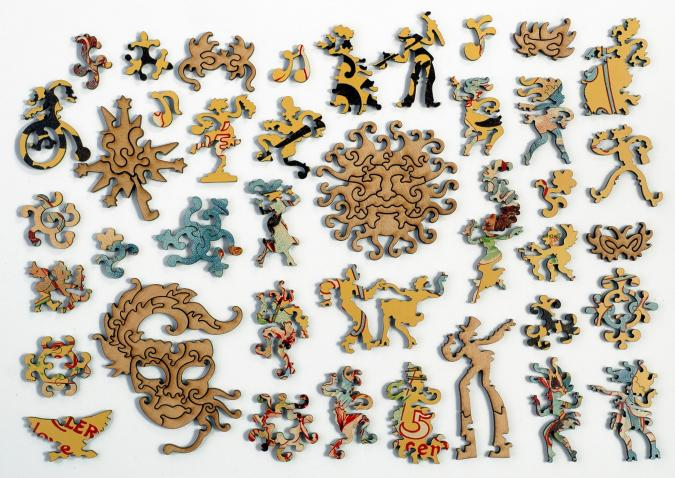 Masques Nicois Carnaval - Liberty Puzzles - 10