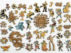 Masques Nicois Carnaval - Liberty Puzzles - 5