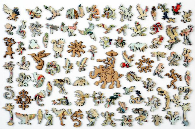 Birds of the Tropics - Liberty Puzzles - 10
