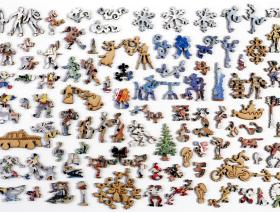 Light Snowfall in New York - Liberty Puzzles - 5