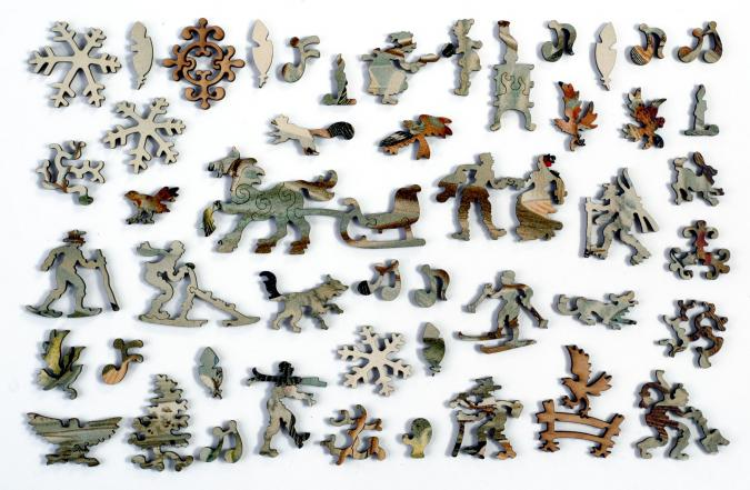 Central European Songbirds - Liberty Puzzles - 10