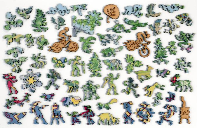 The Woods Walk, Crested Butte, Colorado - Liberty Puzzles - 10