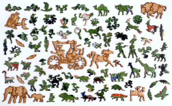 The Menagerie - Liberty Puzzles - 10