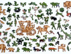 The Menagerie - Liberty Puzzles - 5