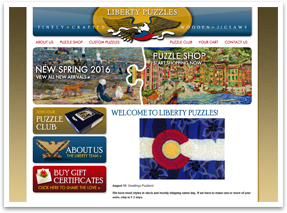 Welcome to our new Liberty Puzzles website!