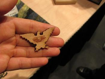 MAKE Magazine: Liberty puzzles - Old meets new - Laser cut wood puzzles
