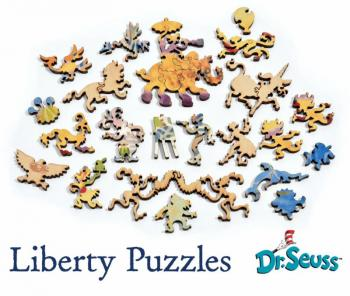 Dr. Seuss Puzzles from Liberty Puzzles