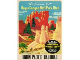 Bryce Canyon National Park - Wooden Jigsaw Puzzle