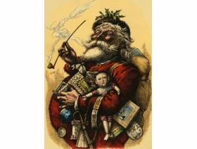 Merry Old Santa Claus - Wooden Jigsaw Puzzle