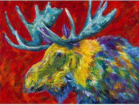Troublesome Moose - Wooden Jigsaw Puzzle