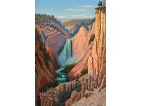 Grand Canyon Falls - Wooden Jigsaw Puzzle