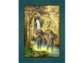 Elephant Pool - Wooden Jigsaw Puzzle