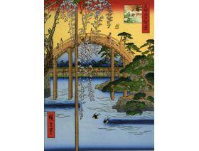 Precincts of the Tenjin Shrine at Kameido - Wooden Jigsaw Puzzle