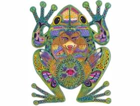 Frog - Wooden Jigsaw Puzzle