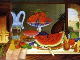 Still Life, Henry Church - Wooden Jigsaw Puzzle