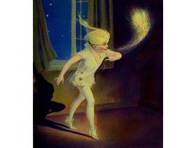 Peter Pan and Tinkerbell - Wooden Jigsaw Puzzle