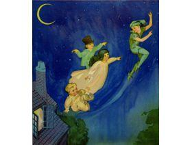 Peter Pan Flying - Wooden Jigsaw Puzzle