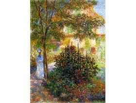 Camille Monet in the Garden - Wooden Jigsaw Puzzle