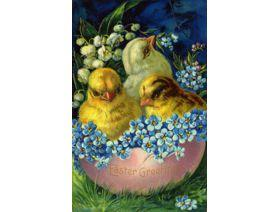 Easter Egg Chicks - Wooden Jigsaw Puzzle