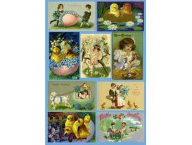 Easter Collage - Wooden Jigsaw Puzzle