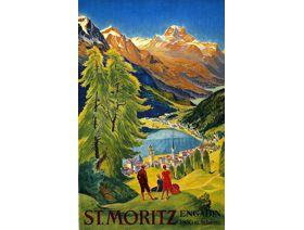 St. Moritz - Wooden Jigsaw Puzzle