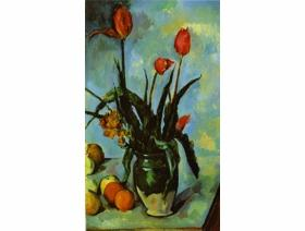 Tulips in a Vase - Wooden Jigsaw Puzzle