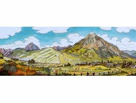 Crested Butte - Wooden Jigsaw Puzzle