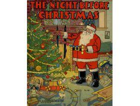 The Night Before Christmas - Wooden Jigsaw Puzzle