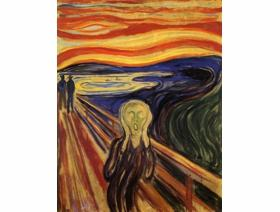 The Scream - Wooden Jigsaw Puzzle