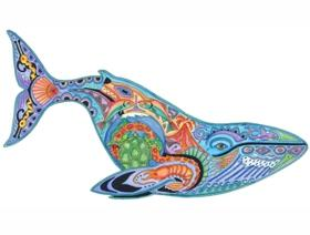 Blue Whale - Wooden Jigsaw Puzzle